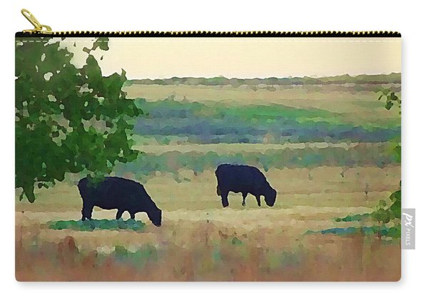 The Cows Next Door Carry-all Pouch