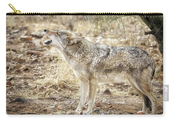 The Coyote Howl Carry-all Pouch