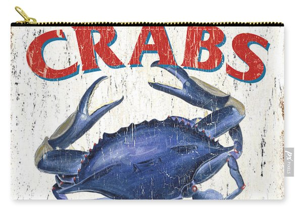 The Crab Shack Carry-all Pouch