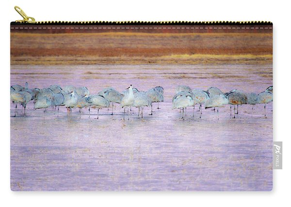 The Cranes Of Bosque Carry-all Pouch