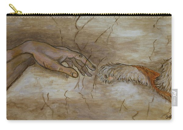 The Creation Of Humanity Carry-all Pouch
