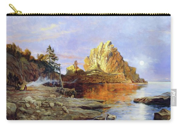 The Crest Of Rock Impressionism Carry-all Pouch