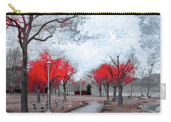 The Crimson Trees Carry-all Pouch