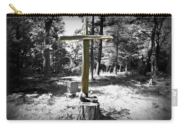 The Cross In The Woods Carry-all Pouch