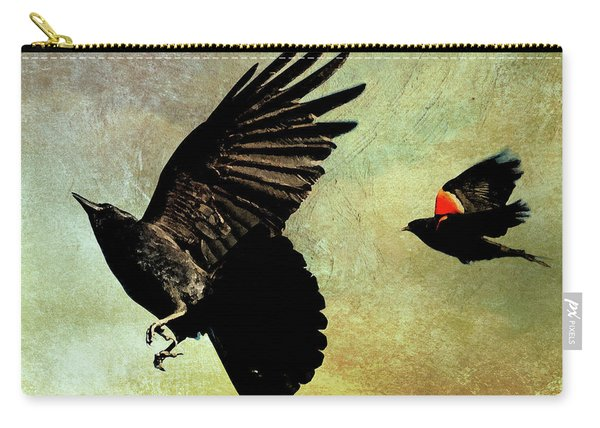 The Crow And The Blackbird Carry-all Pouch