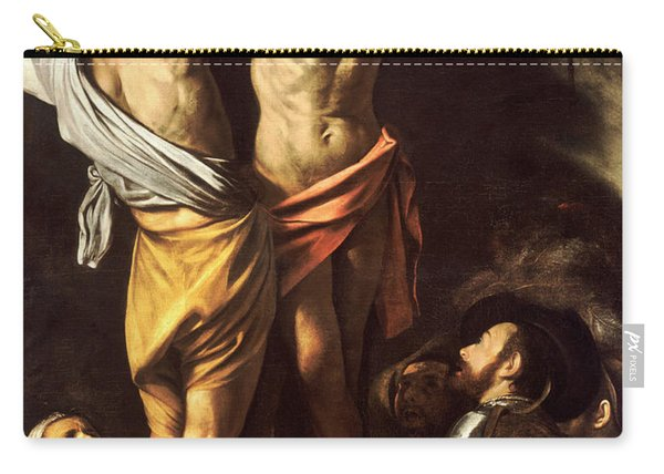 The Crucifixion Of Saint Andrew Carry-all Pouch