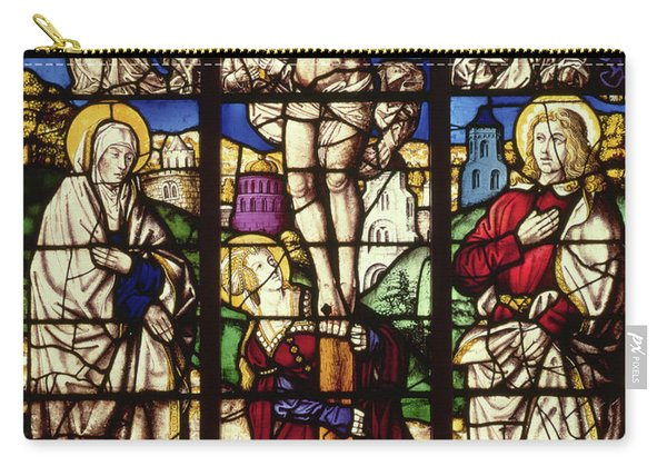 The Crucifixion, Stained Glass Window Carry-all Pouch