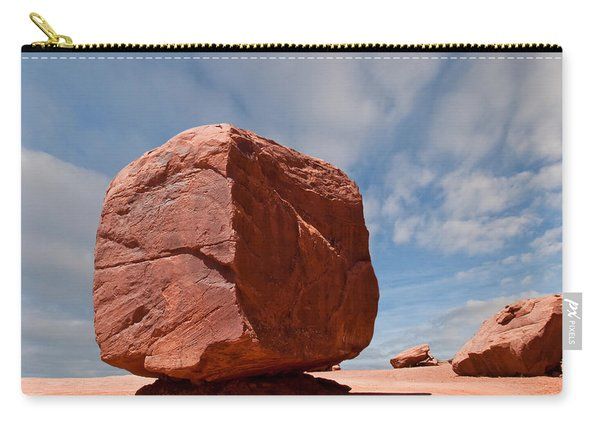 The Cube At Monument Valley Carry-all Pouch