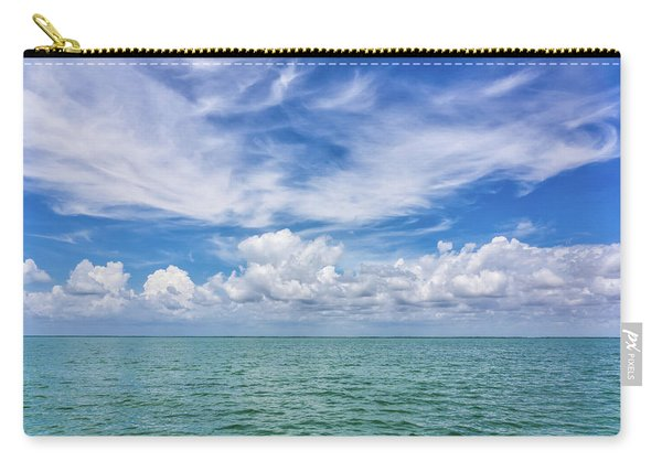 The Dance Of Clouds On The Sea Carry-all Pouch
