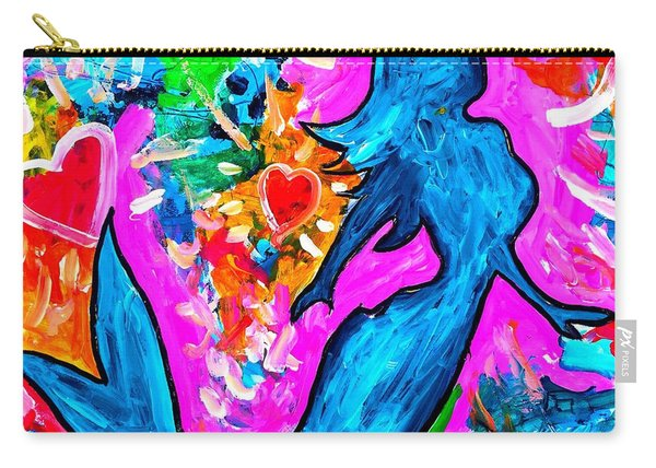The Dancing Mermaid Carry-all Pouch