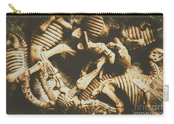 The Dark Dinosaur Abstract Carry-all Pouch