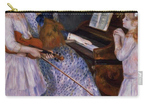 The Daughters Of Catulle Mendes At The Piano, 1888 Carry-all Pouch