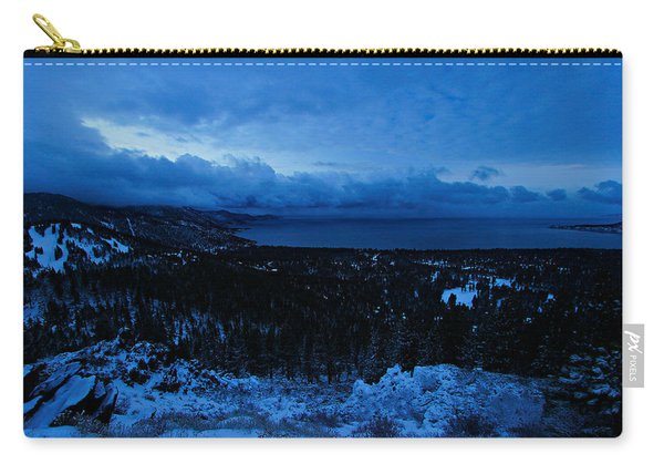 Carry-all Pouch featuring the photograph The Dawn Of Winter by Sean Sarsfield