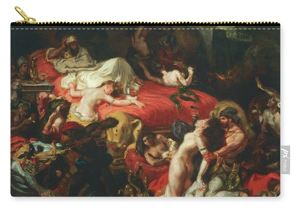 The Death Of Sardanapalus Carry-all Pouch