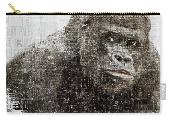 The Dignity Of A Gorilla Carry-all Pouch