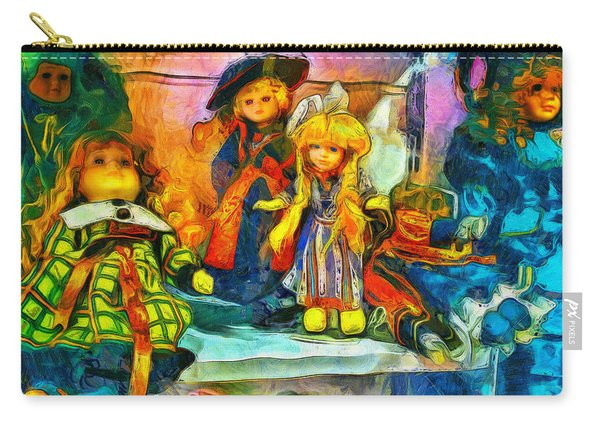 The Dolls Carry-all Pouch