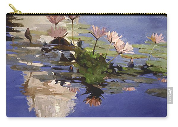 The Dome - Water Lilies Carry-all Pouch