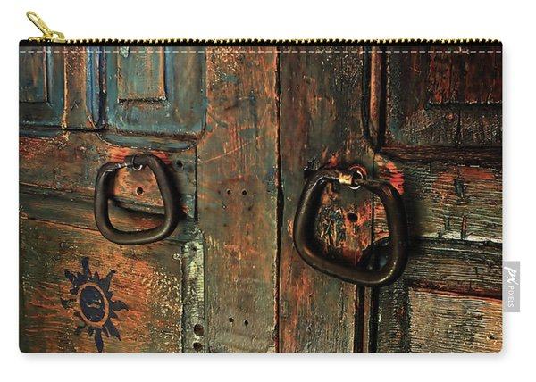 The Door Of Many Colors Carry-all Pouch