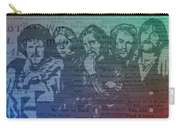 The Eagles Hotel California Carry-all Pouch