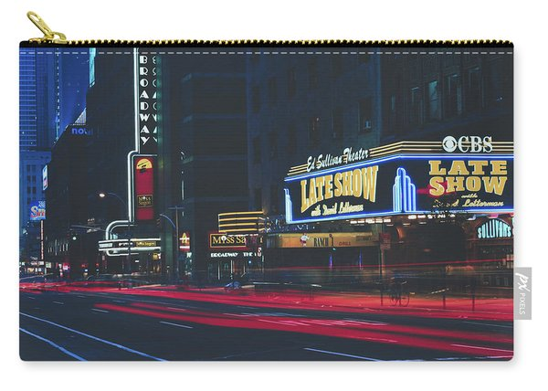 The Ed Sullivan Theatre - New York City Carry-all Pouch