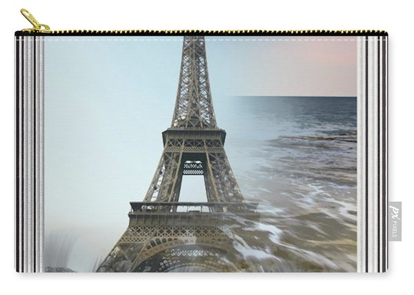 The Eiffel Tower In Montage Carry-all Pouch