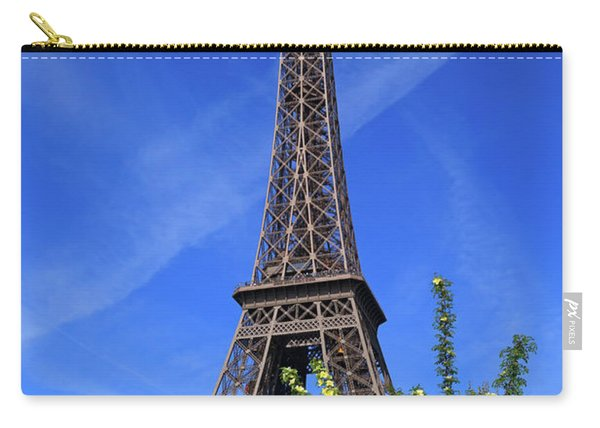 The Eiffel Tower In Spring Carry-all Pouch