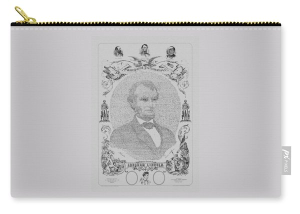 The Emancipation Proclamation Carry-all Pouch