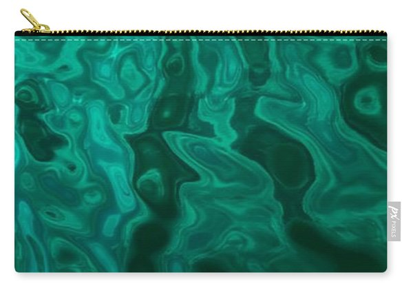 The Emerald Wave Carry-all Pouch