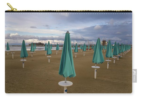 The End Of The Season In Rimini Carry-all Pouch
