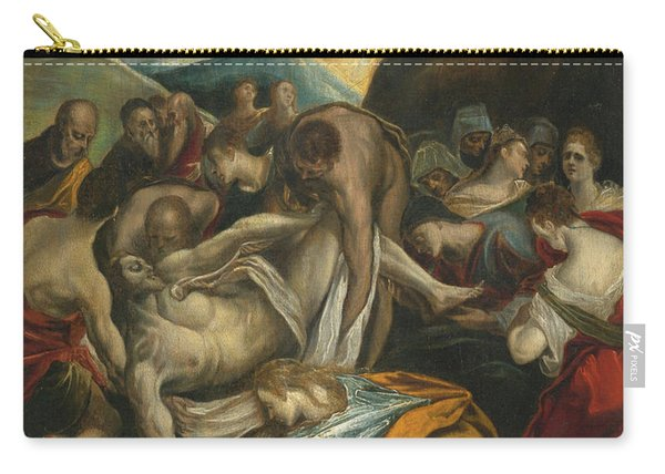 The Entombment Of Christ Carry-all Pouch