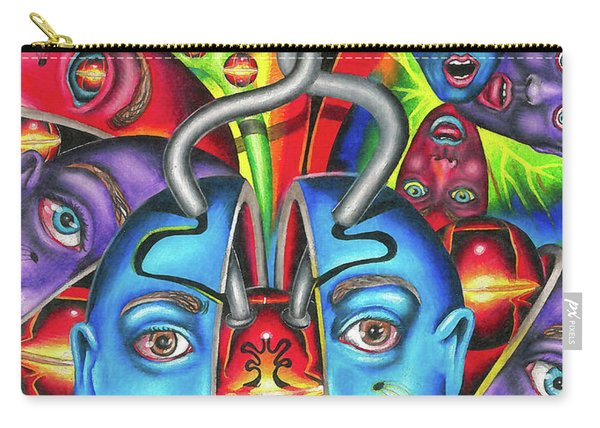 The Esoteric Force Of Molecular Mentality Carry-all Pouch