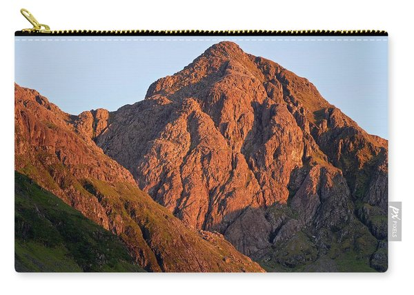 The Evening Light Hits Bidean Niam Ban Carry-all Pouch