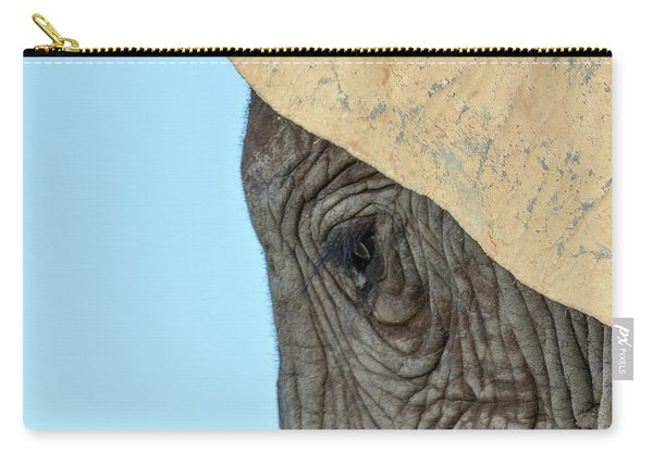 The Eye Of An Elephant Carry-all Pouch