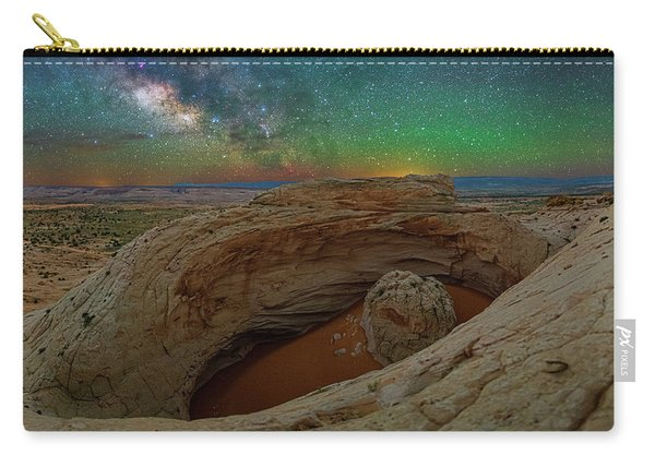 The Eye Of Earth Carry-all Pouch