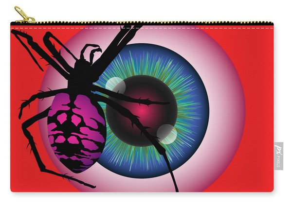 The Eye Of Fear Carry-all Pouch