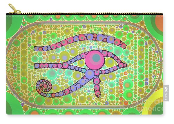 The Eye Of Ra By Mb Carry-all Pouch