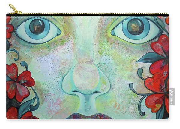 The Face Of Persephone I Carry-all Pouch