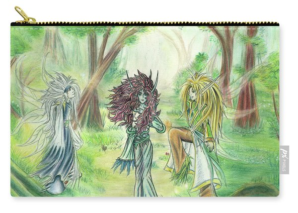 The Fae - Sylvan Creatures Of The Forest Carry-all Pouch