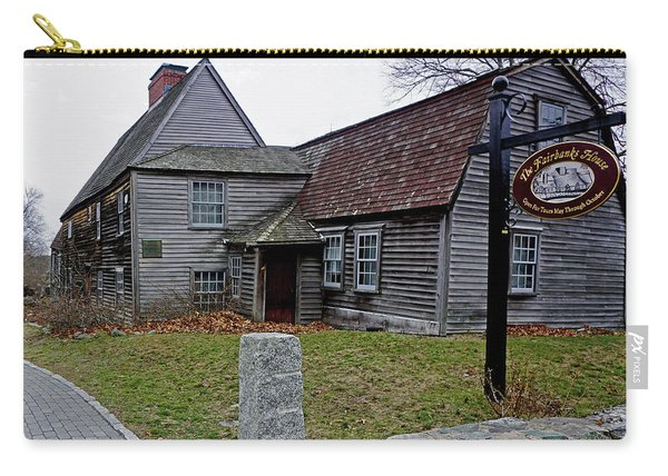 The Fairbanks House Carry-all Pouch