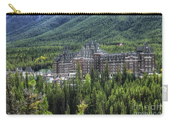 The Fairmont Banff Springs Carry-all Pouch