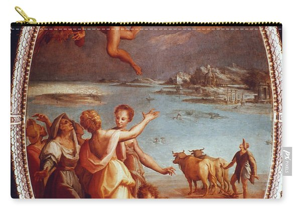 The Fall Of Icarus Carry-all Pouch