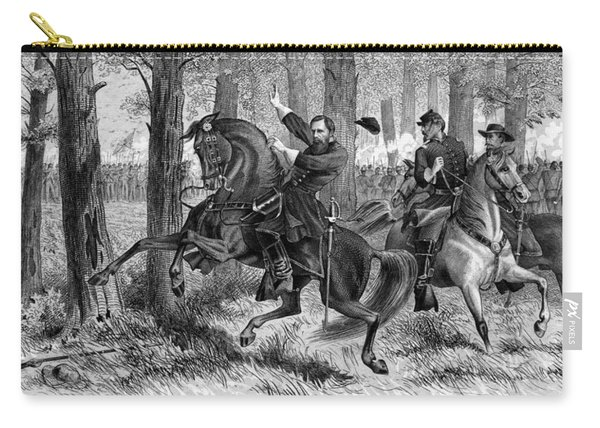 The Fall Of Reynolds -- Union Civil War Carry-all Pouch