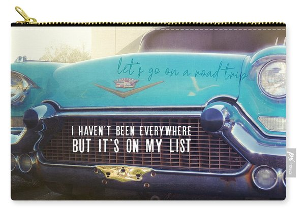 The Famous 57 Seville Quote Carry-all Pouch