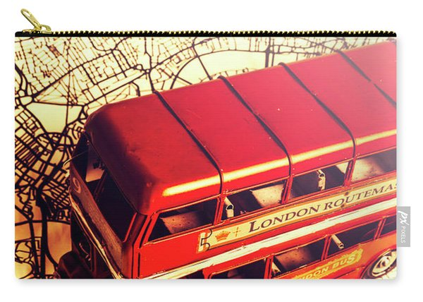 The Famous Red Bus Carry-all Pouch