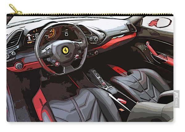 The Ferrari 488 2016 Carry-all Pouch