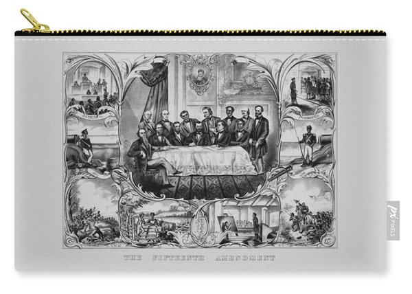 The Fifteenth Amendment  Carry-all Pouch