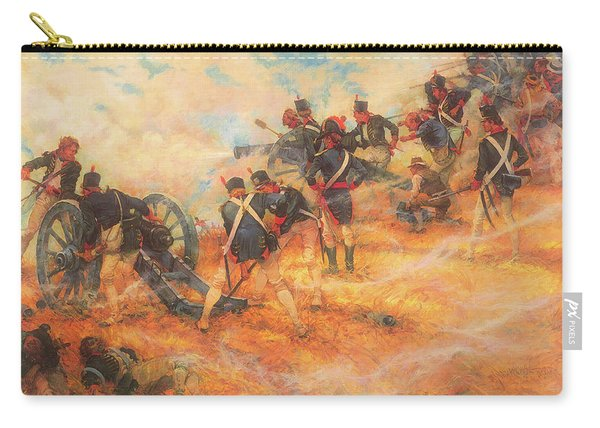 The Final Stand At Bladensburg Maryland In Defense Of Washington D C Carry-all Pouch