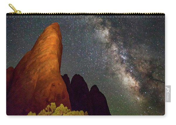 The Fins At Sand Dune Arch Carry-all Pouch