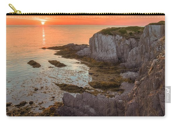 Carry-all Pouch featuring the photograph Nova Scotian Sunset by Garvin Hunter