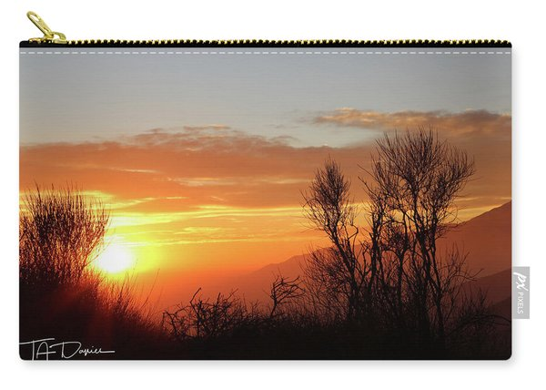 The Fire Of Sunset Carry-all Pouch